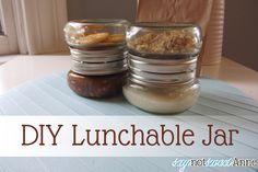 SayNotSweetAnne DIY Yogurt and Granola Jar or any kind of lunch item jar! Mason Jar Crafts, Mason Jars, Diy Jars, Yogurt And Granola, Jar Gifts, So Little Time, Have Time, Food Hacks, Crafts To Make