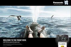 photographer: Christoph Martin Schmid  campaign: Panasonic Lumix Front Row   agency: Lukas Lindemann Rosinski   creatives: Markus Kremer, Creative Dir.