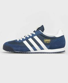 sports shoes 04ad5 995ae Dragons in Navy mesh and suede with White leather trim Adidas Og, Blue  Adidas,