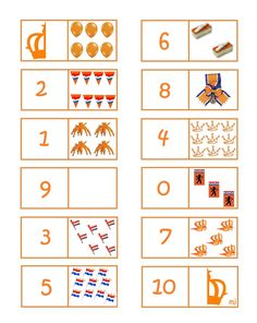 Domino: Tellen van 1 tot 10!