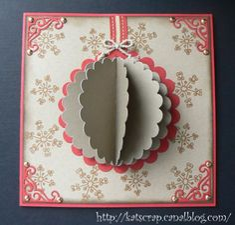 @ décembre 2011 : défi de l'avent Noel 2010 boule en 3D