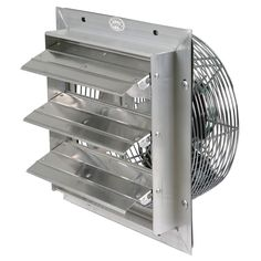 12 Louvered Exhaust Fan