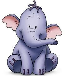 Resultado de imagen para Resultado de imagen para hippo girl cartoon images free Pooh Baby, Winne The Pooh, Winnie The Pooh Friends, Disney Winnie The Pooh, Winnie The Pooh Elephant, Cute Disney, Disney Art, Eeyore, Tigger