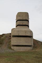 MP4 German bunker on the Channel Islands.