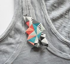 brooch by nomilktoday at Etsy