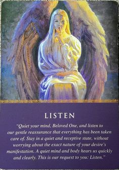LISTEN – Your angels are guiding and protecting you 🧚‍♀️ – tarot connection Archangel Prayers, Angel Guide, I Believe In Angels, Oracle Tarot, Doreen Virtue, Angels Among Us, Angel Cards, Guardian Angels, God