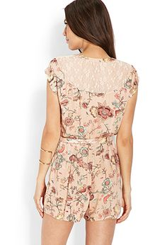 Flower Flight Romper | FOREVER 21 - 2000107867