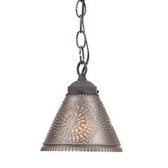 Crestwood Shade Light in Kettle Black- A highly requested pendant lamp to coordinate with our popular Crestwood Series. The shade design, size and finish match perfectly with our other Crestwood pieces. Country Lamps, Country Chandelier, Ceiling Fan Chandelier, Ceiling Lights, Ceiling Lamp, Country Decor, Primitive Lighting, Farmhouse Lighting, Rustic Lighting