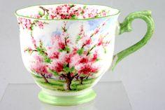 Royal Albert - Blossom Time - Teacup - Green rim