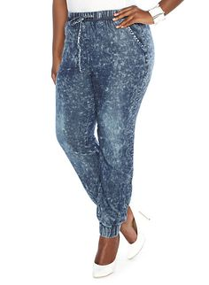 Plus-Size Jogger Pants | Cute Bottoms/Skirts/Leggings/Tights ...