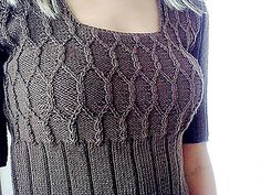 Ravelry: Cable Dress pattern by Natalie Smart