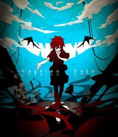 """"""" """" カゲロウデイズ """" """"※Permission to upload this was granted by the original artist of the image. Manga Anime, Anime Demon, Anime Guys, Anime Art, Vocaloid, Kagerou Project, Happy Summer, Actors, Awesome Anime"""