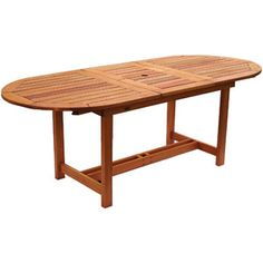 Milano FSC Eucalyptus Wood Extendable Outdoor Table    want this with the seating in the pictures....