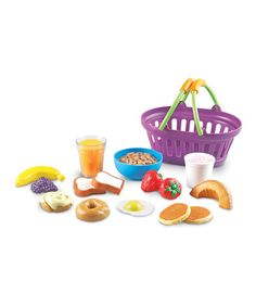 Take a look at this New Sprouts Breakfast Basket by New Sprouts on #zulily today!