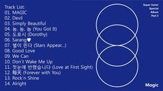 [FULL ALBUM] SUPER JUNIOR - MAGIC [SPECIAL ALBUM PART.2]
