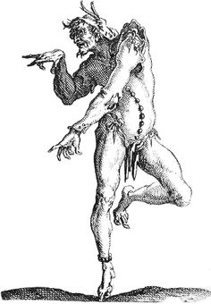 #etching, #Jacques Callot, #Grotesque Satire