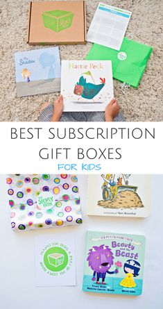 The Best Monthly Subscription Boxes for Kids. Great last minute holiday gift ideas for kids.