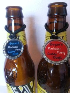 Bachelor Party Favors, PERSONALIZED PARTY FAVORS, Personalized Bachelor party decorations, solo cup, wine charms, beer bottle charms
