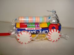 Homemaking Fun: Candy Trains                                                                                                                                                                                 More