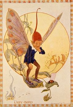 Lady-Bird - Flower Fairies book by Marion St John Webb, 1923 illus. by Margaret W. Tarrant