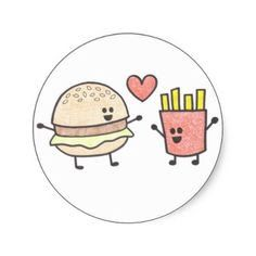 Burgers ❤️ French Fries