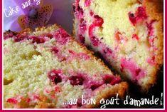 Cake aux groseilles au bon goût d'amande