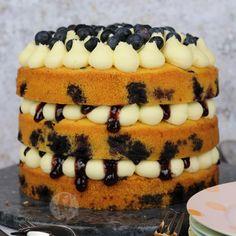 Lemon & Blueberry Cake! - Jane's Patisserie