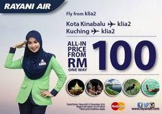 1 Apr 2016 Onward: Rayani Kota Kinabalu Flight Promotion