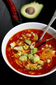 Mexikói chilis kukoricaleves