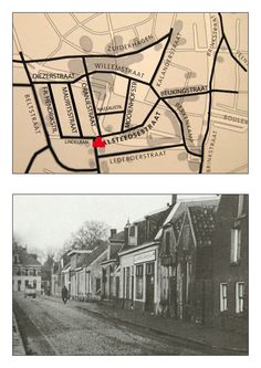 Oranjestraat gefotografeerd vanaf de hoek met de Alsteedsestraat in de richting van de Diezerstraat / Willemstraat.