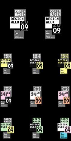 Creative Logo, Copenhagen, Design, Week, and 09 image ideas & inspiration on Designspiration Sports Graphic Design, Graphic Design Posters, Typography Design, Print Layout, Layout Design, Icon Design, Brochure Design, Branding Design, Identity Branding