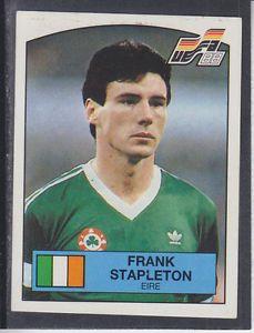 Image result for frank stapleton panini sticker euro88 Football Stickers, Baseball Cards, Image