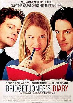Bridget Jones Diary - Renee Zellweger, Colin Firth, and Hugh Grant Hugh Grant, Bridget Jones Diary Movie, Bridget Jones's Diary 2001, Colin Firth, See Movie, Film Movie, Comedy Movies, Epic Movie, Films Cinema