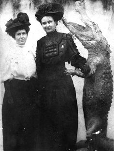"""Martha, told you to look out for wolves. I would have thought you would take 'crocodiles' as read."""