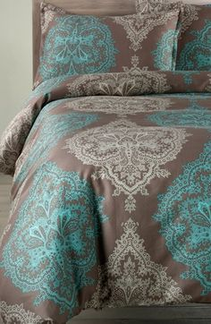 Nordstrom at Home 'Cosette' Sateen Duvet Cover available at #Nordstrom