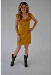 Gold Gameday Dress