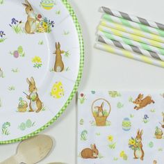 Eastern Party Kit / Kit de merienda conejitos de pascua sólo en www.lafiestadeolivia.com