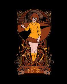 The Shirt List Design Gallery — Madam Mystery T-Shirt | $10 Scooby Doo t-shirt at...