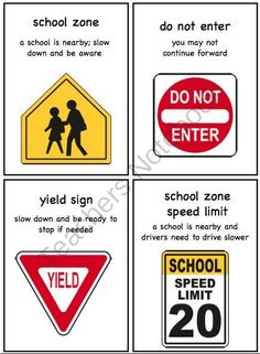 Community Signs Mega Pack for Early Childhood or Special Education from The Autism Helper on TeachersNotebook.com -  (65 pages)  - This unit includes tons of fun games, printables, flashcards, and an adapted book to help your students learn about common community signs.