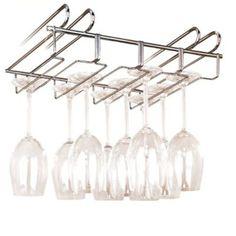 Le porte verres wenko rack pour 12 verres est un accessoire de rangement tr - Porte verre suspendu ...