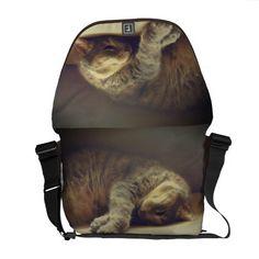 Adorable Cat Courier Bag