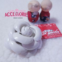 BRAND NEW FROM SOUTH KOREA  Plain Jane Rose (BRKO-6A000)  Quantity:- 2  Sale 4 U $8 - only payment through Bank Transfer (With FREE SingPost AM Mail within Singapore). You can buy it at our website! More info at http://theaccessories.co/product/brko-6a000  #women #brooch #korea #new #hand-made #girl #ladies #sweet #rose #cream #elegant #fabric #beige