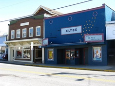 Clyde Theatre, Langley, Whidbey Island, WA