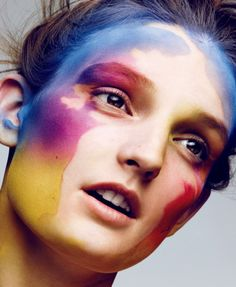 ColorfulBeauty: Julia Fleming for Vogue Japan by Ben Hassett