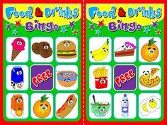 Food and Drinks - Bingo