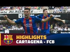 Daily Lanka News Express: [HIGHLIGHTS] FUTBOL (2AB):  Cartagena - FC Barcelo...