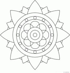 Easy mandala coloring pages mandala coloring pages easy 2 bunch ideas of printable simple mandala drawing . easy mandala coloring pages Mandala Design, Mandala Art, Stencils Mandala, Easy Mandala Drawing, Simple Mandala, Mandalas Painting, Mandalas Drawing, Mandala Pattern, Zentangle Patterns