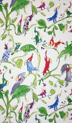 shelleysdavies.com | Art to Zucchini and everything in between | Quentin Blake