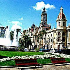 Plaça de l'Ajuntament in Valencia, Valencia