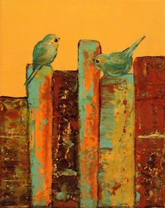 Book paintings... because books aren't just interesting, they're also beautiful.